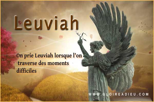 19 – Leuviah l'ange qui nous aide dans les moments difficiles