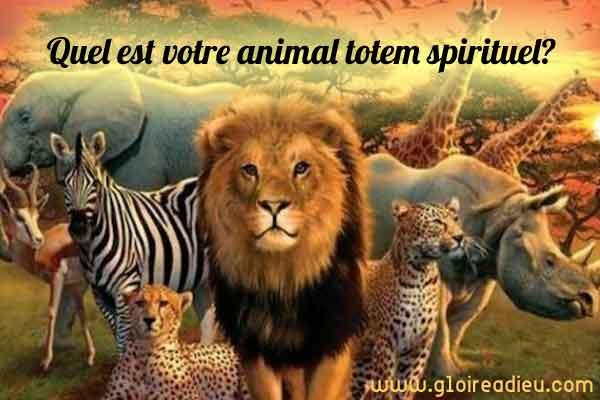 Quel est votre animal totem spirituel porte bonheur?