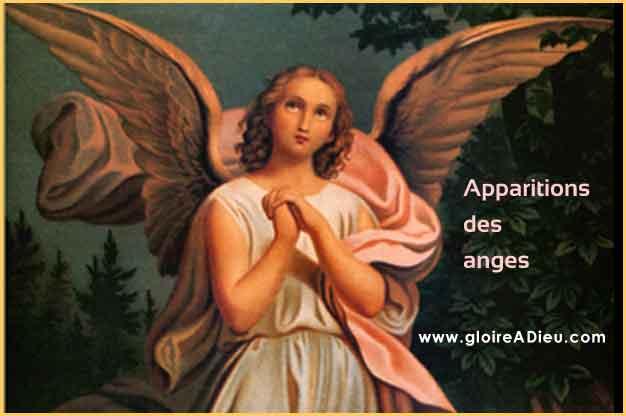 Les plus importantes apparitions des anges gardiens