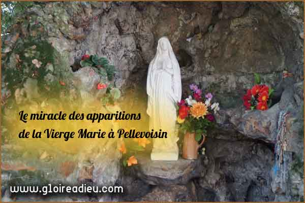 Le miracle des apparitions de la Vierge Marie à Pellevoisin