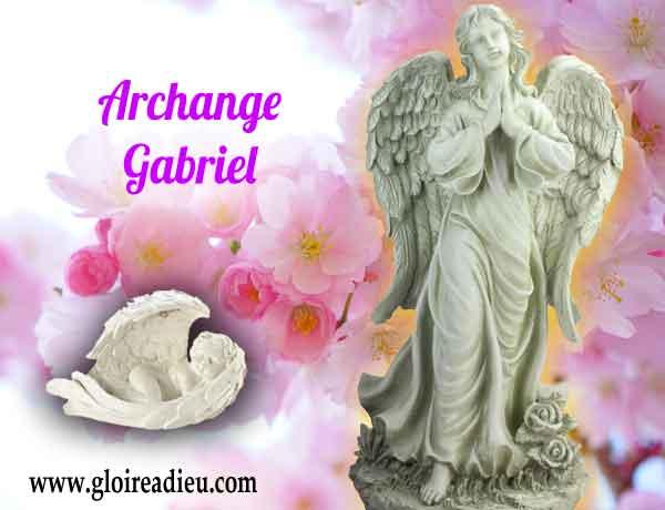 Qui est l'archange Gabriel prince des anges chérubins ?