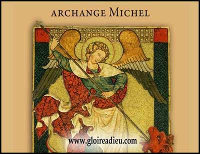 prier archange Michel pour avoir sa protection
