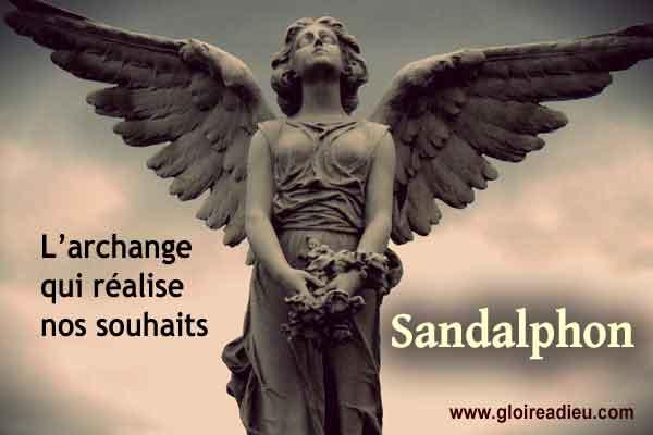 Sandalphon l'archange qui réalise les souhaits et exauce les prières