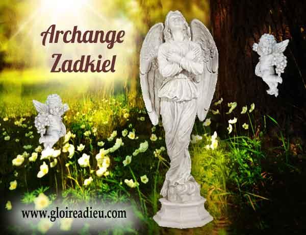 Qui est l'archange Zadkiel prince des anges des dominations?