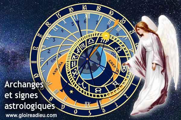 Quel archange est le protecteur de mon signe astrologique?