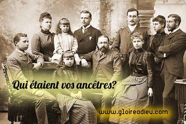 Découvrez qui étaient vos ancêtres et qui vous êtes vraiment grâce à votre arbre généalogique