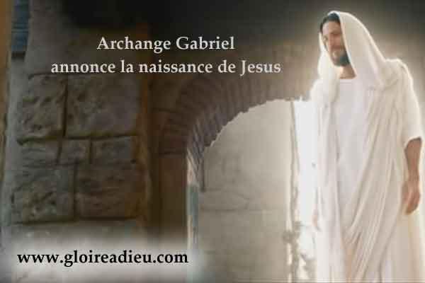 Annonciation de la naissance de Jesus Christ par l'ange Gabriel – video