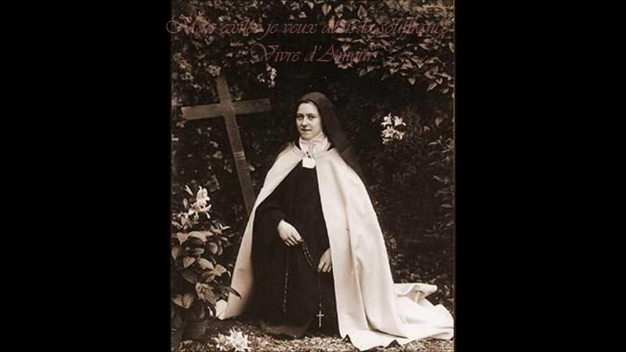 Grande prière d'amour de Sainte Thérèse chantée par les carmélites