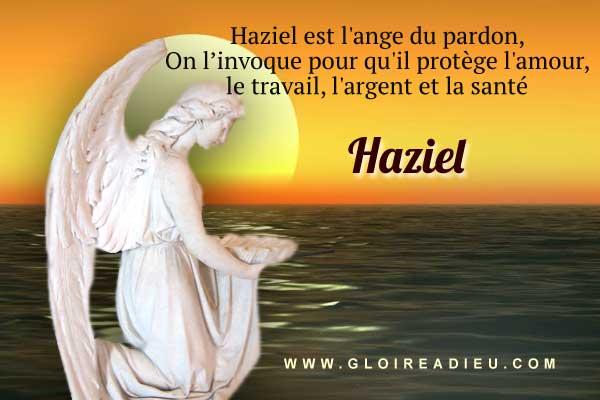 Haziel, ange du pardon et de la réconciliation