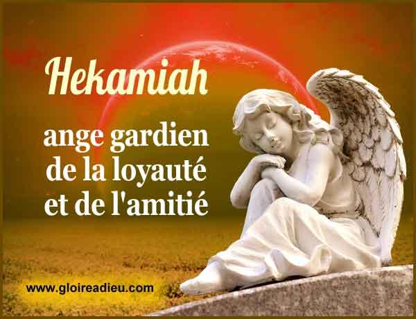 16 – Hekamiah ange gardien de la loyauté et de l'amitié dans le couple