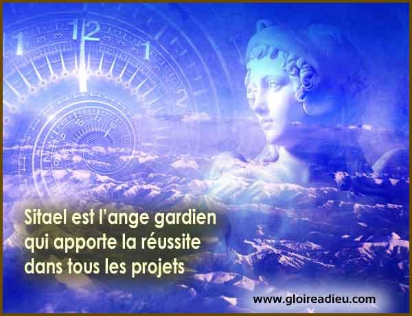 Sitael est l'ange gardien qui apporte la réussite dans tous les projets