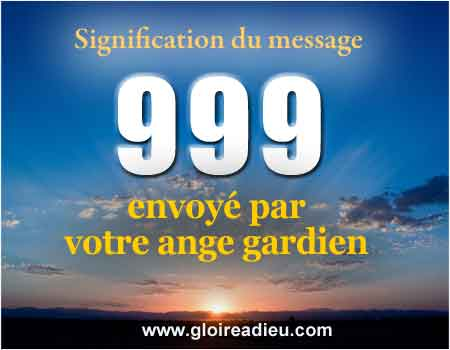 Signification du message 999