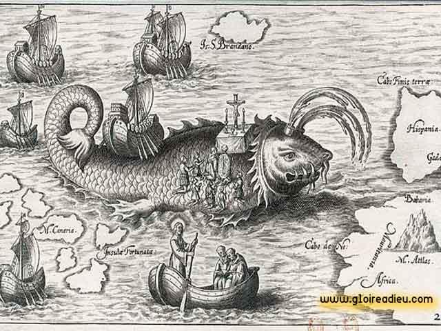 Messe de Pâques célébrée sur le dos d'une baleine, le miracle des animaux