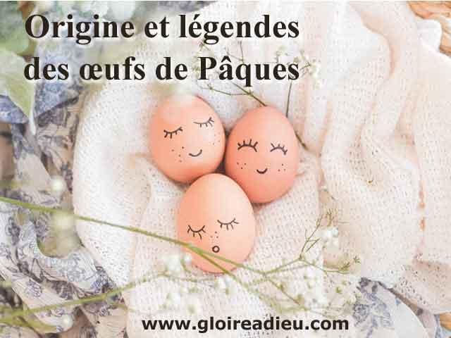 Origine et légendes des œufs de Pâques