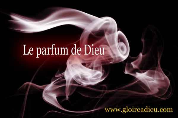 Quelle est l'odeur associée au parfum de Dieu?