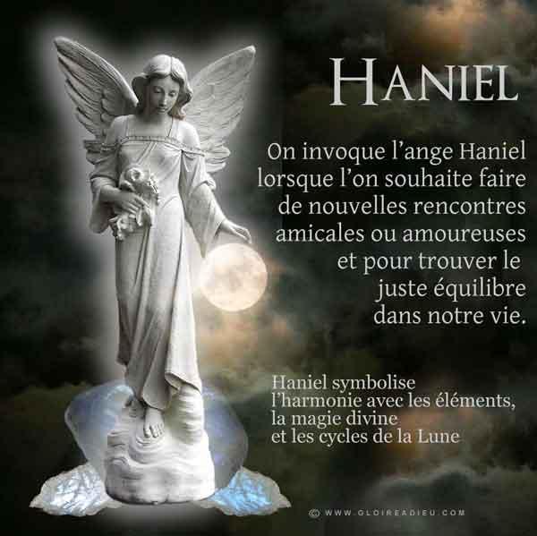 Qui est l'archange Haniel prince des Principautés?