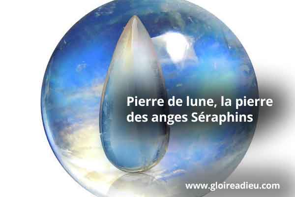 Pierre Lune Anges Seraphins
