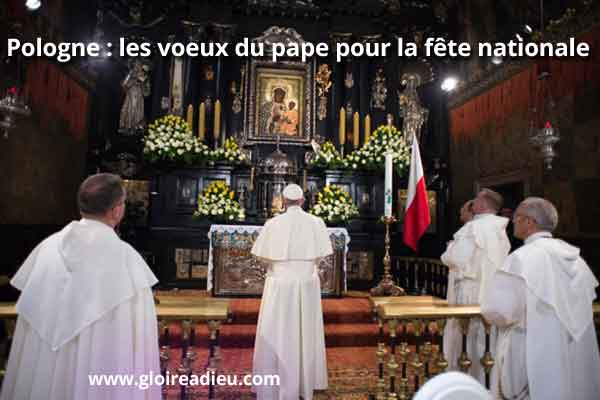 Pologne Pape Voeux