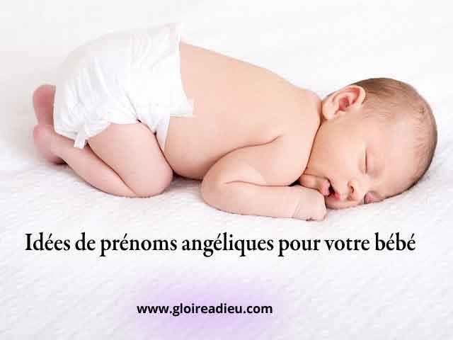 Idées de prénoms angéliques pour votre bébé