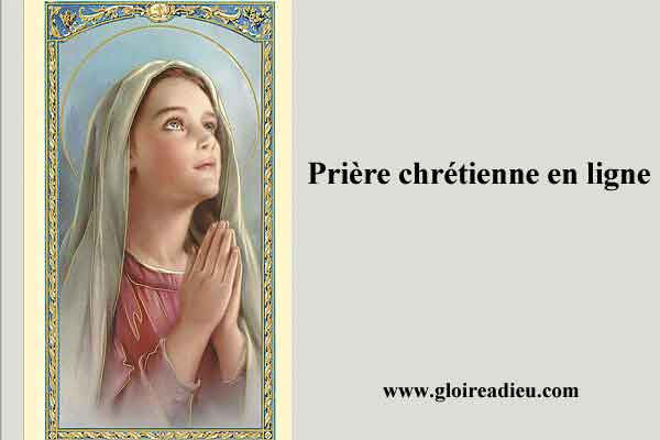 Priere Chretienne En Ligne