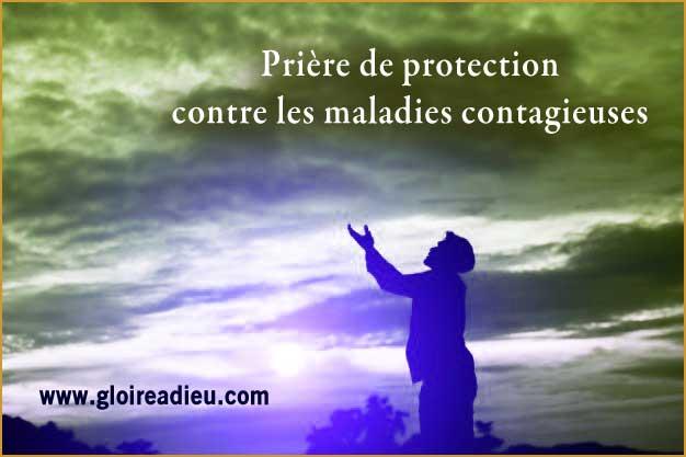 Prière de protection contre les maladies contagieuses