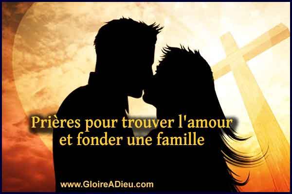 Prières pour trouver l'amour et fonder une famille