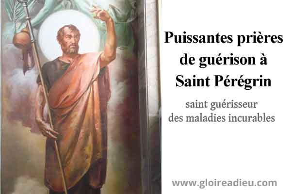 Puissantes prières de guérison à Saint Pérégrin pour guérir les maladies incurables