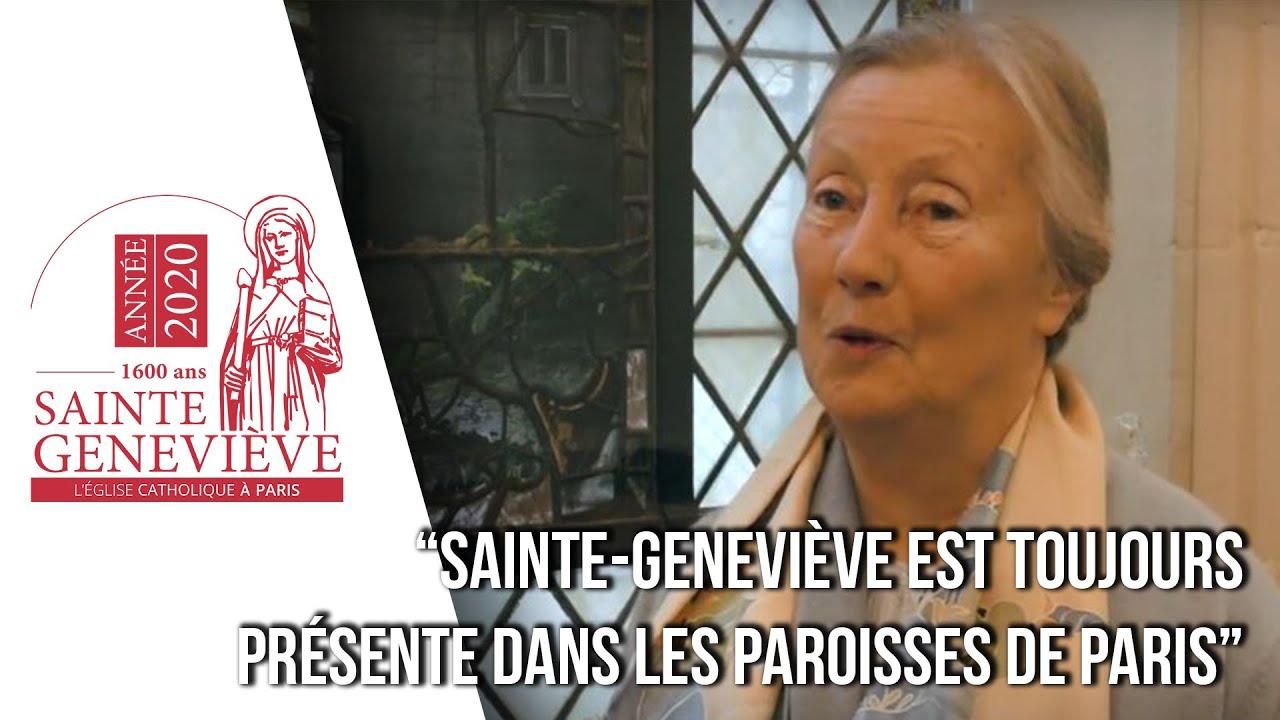 Qui était Sainte Geneviève, patronne de Paris? vidéo
