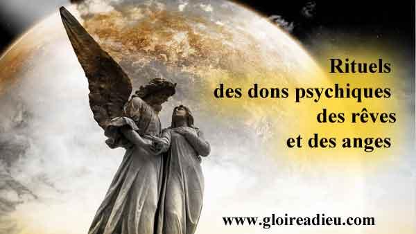 Rituels des dons psychiques, des rêves et de la communication avec les anges