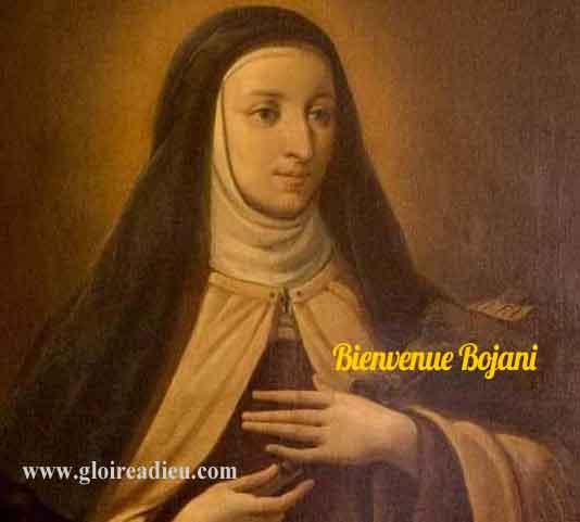 Vie de Sainte Bienvenue Bojani