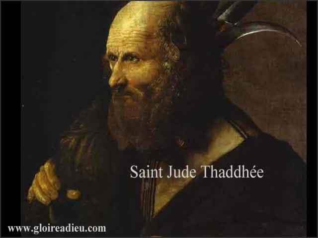 Vie de Saint Jude Thaddée