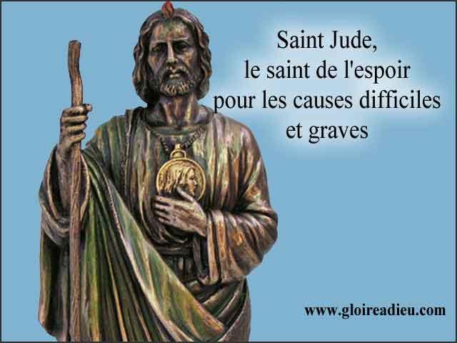 Saint Jude, le saint de l'espoir à prier pour les causes difficiles et graves