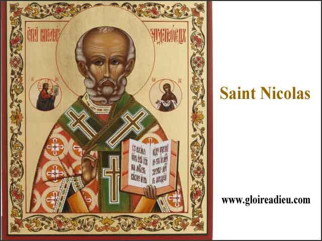 Saint Nicolas commande et contrôle les tempêtes