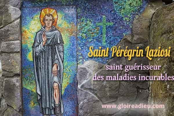 Vie de Saint Pérégrin Laziosi guérisseur des maladies incurables