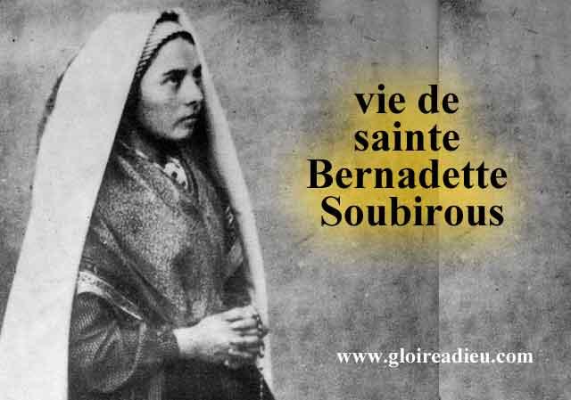 Sainte Bernadette Soubirous, apparition de la Vierge à Lourdes