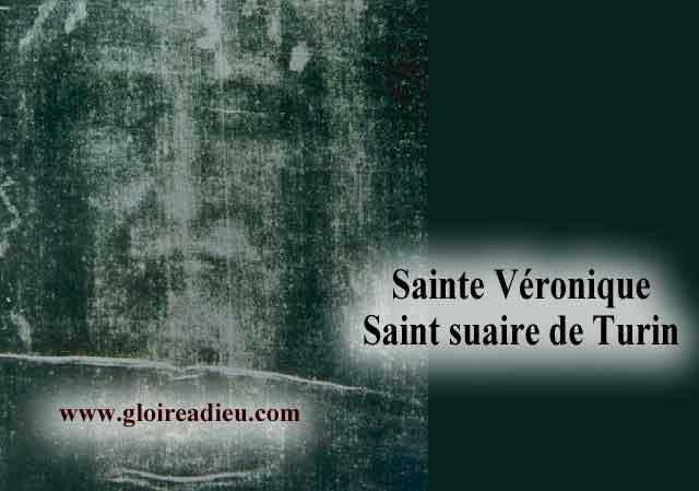 Sainte Véronique la femme qui a essuyé le visage du Christ